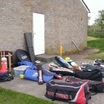 Prepare the Ground Day 2014 Sorting out the Colts kit
