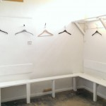 Prepare the Ground Day 2014 Freshly painted changing rooms