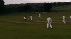 Nick Page batting