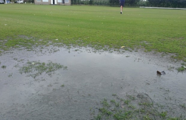 July Flooded Pitch