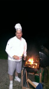 Chef Eric at the club's BBQ 2014