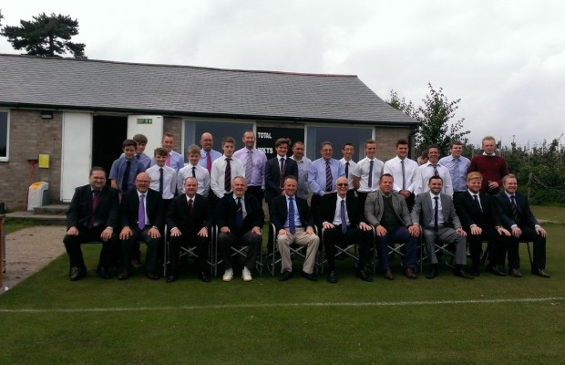 Players at the start of the Chairman's Day Super Sixteen Slog