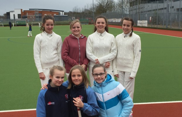 2016 - Girls at the six-a-side tournament in April