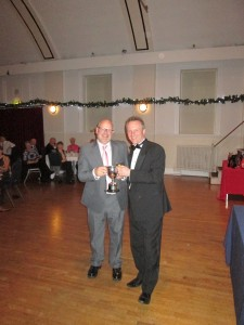 Mark Collier receives the Chairman's Award 2016 from (funny enough)  the Chairman
