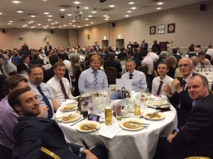Bapchild CC  Table - Kent League Dinner 2016