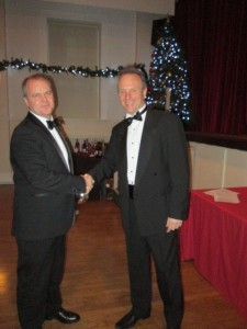 Steve Botting receives the 2017 Chairman's Award from the Chairman