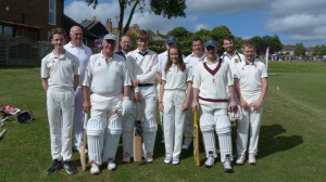 The History making 3rd XI v Egerton June 2018