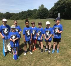 Bapchild Mini 8s team - June 2018