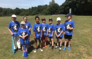 Bapchild Mini 8s team - June 2018