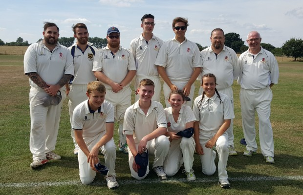 Bapchild 3XI v Faversham -  With Izzy Julier becoming the 2nd ever female to play for the seniors - August 2018