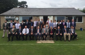 The Players and Vice Presidents at the 2018 Chairman's match