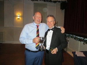 Steve Hogg received the Chairman's Award 2019 from the Chairman (fortunately no acceptance speech !!)