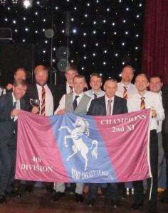 2nd XI KCL Division 4 Champions